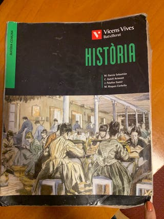 Libro de historia bachillerato