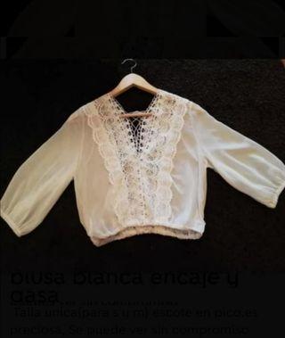 blusa blanca nueva