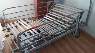 cama hospitalaria articulada marca Pardo