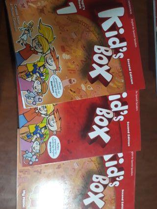 kids box pupils book 1. Cambrige