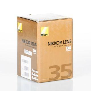 Objetivo Nikon AF-S DX Nikkor 35mm f/1.8