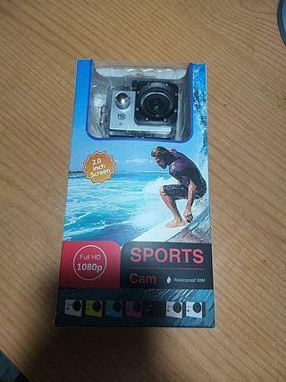 cámara de deporte