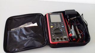 osciloscopio mano -multitester uni-t UT81B +regalo
