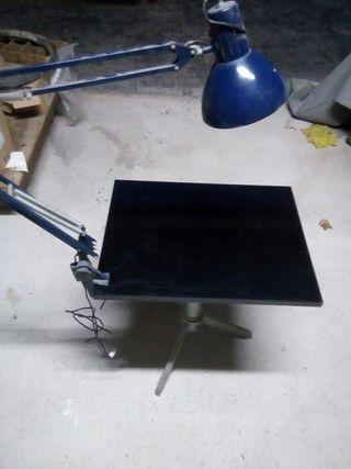 mesa hierro industrial vintage