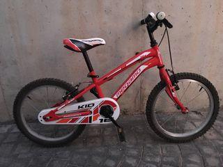 Bicicleta de niño Megamo