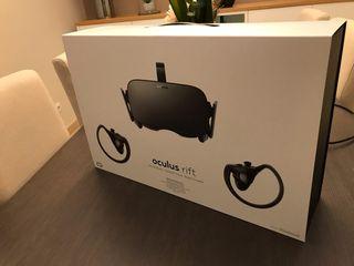 Oculus Rift + control touch