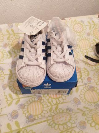 zapatillas adidas bebe niño talla 24