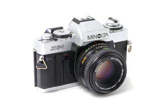 Cámara analógica Minolta XG-1
