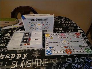 juego de mesa sinonimos y antonimos
