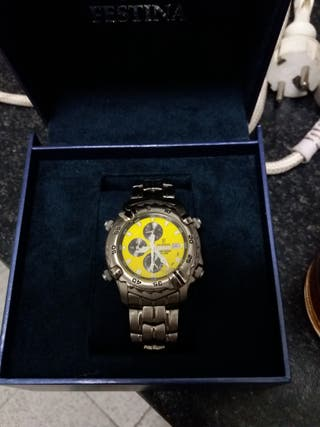 Reloj Festina Quarzt Titanium de hombre