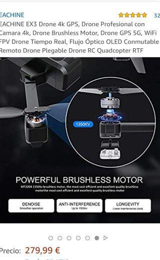 dron plegable nuevo eachine EX3