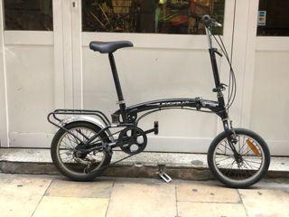 Bicicleta plegable paseo urbana