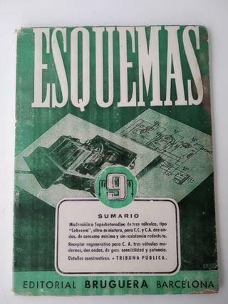 """Libro """"Esquemas Vol.9 - Receptores radio"""" - 1946"""