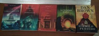 Lote 5 libros Dan Brown