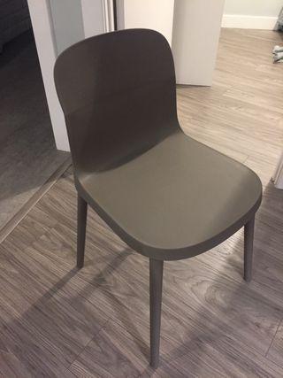 4 sillas sin estrenar! color gris, muy comodas
