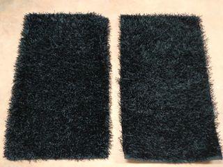 2 alfombras individuales 70x120