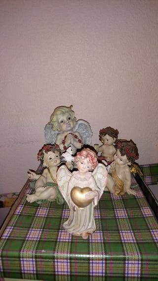 Figuras decorativas angelitos