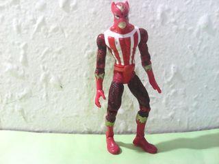 Marvel figura MANCHA SOLAR SUNFIRE 1998 toy biz