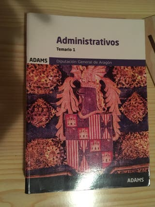 Temario administrativo 1 y 2