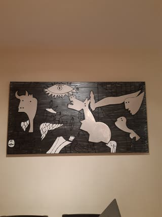 Cuadro Guernica Metal