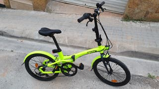 bici plegable b.twin