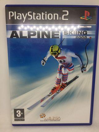 Alpine Skiing PS2 Playstation 2 PAL