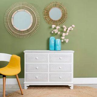 Cómoda Cajonera Diseño Madera Mueble Salon