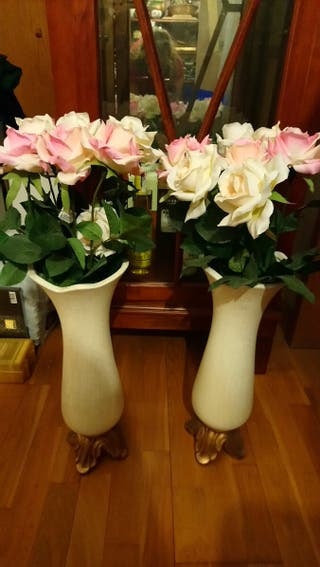 Jarrones flores