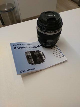 Macro Canon EFS 60 2.8