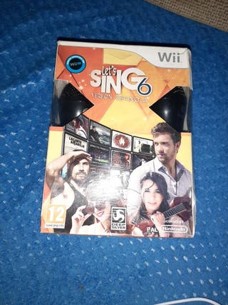 let's sing 6 wii