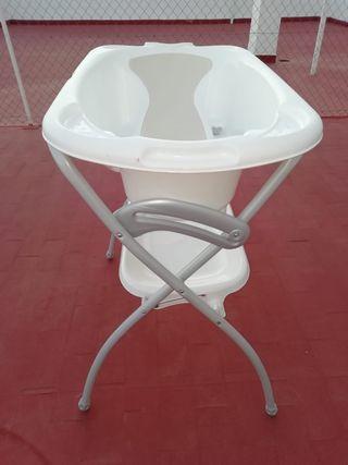 bañera plegable bebé