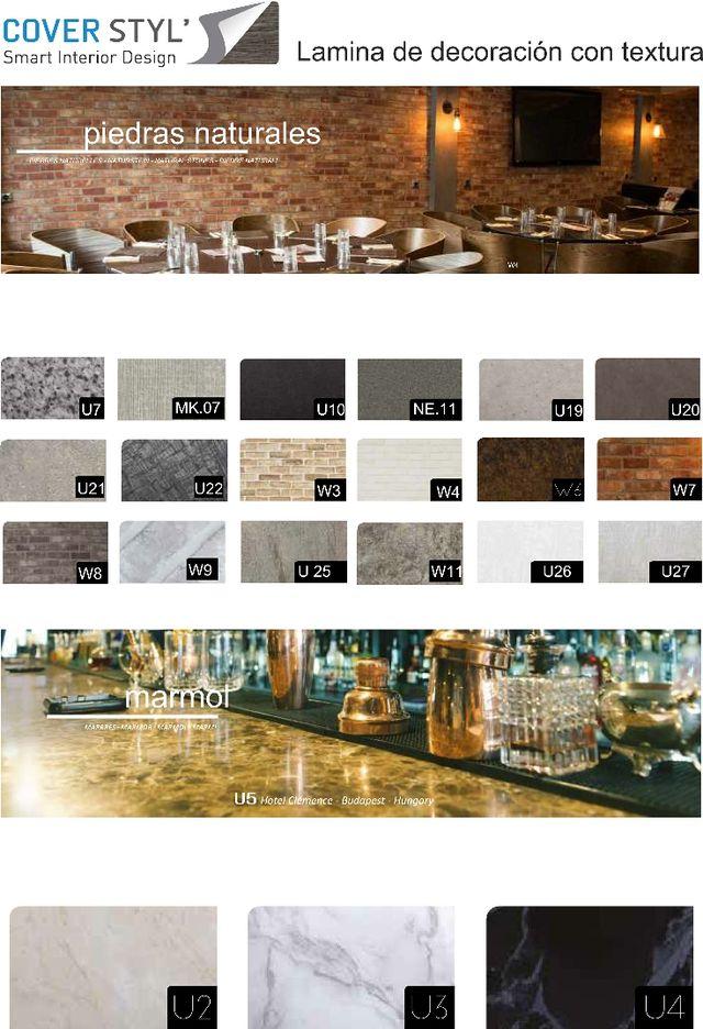 vinilos decorativos con texturas