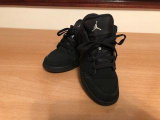 air jordan 1 low negras