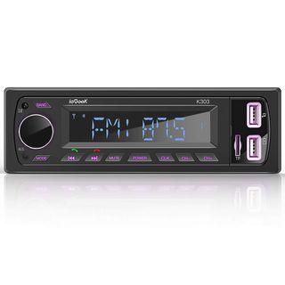 Radio Coche RDS Estéreo 60W bluetooth nueva