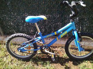 "bicicleta niños monty 16""(bmx)"