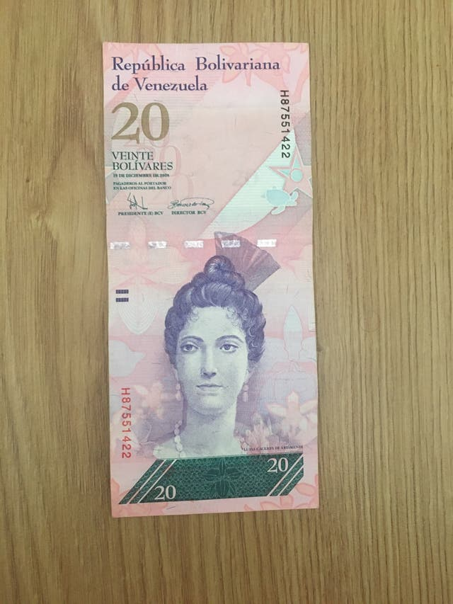 Collection bank notes