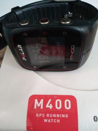 polar m400. pulsómetro