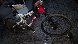 bicicleta de montaña por flex