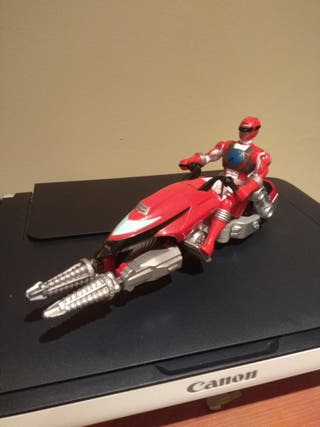 Moto Power Rangers Operacion Overdrive