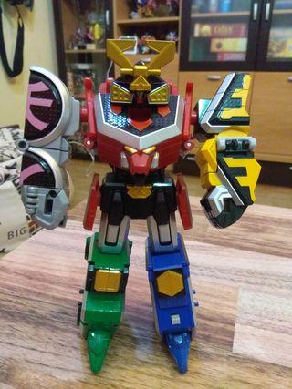 Megazord Power Rangers Super Samurai