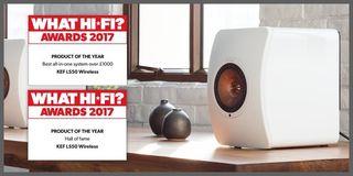 Altavoces KEF LS50 wireless