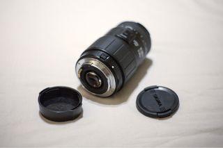 Objetivo Sigma 70-300 para Canon + macro