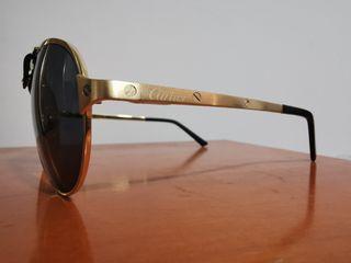 gafas de sol Cartier 135 de Oro para hombre