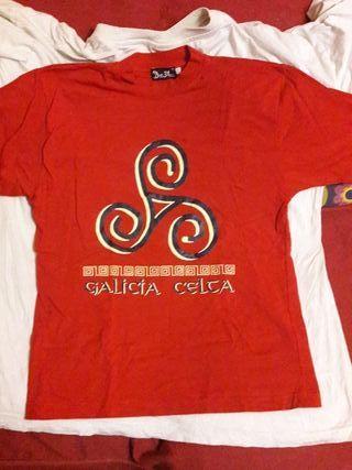 Camiseta roja GALICIA CELTA