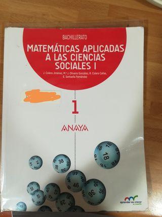 libros 1 bachillerato colegio maria teresa