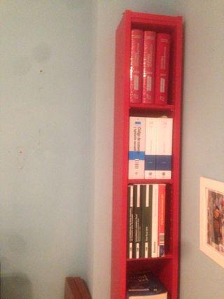 Estantería madera para cds libros
