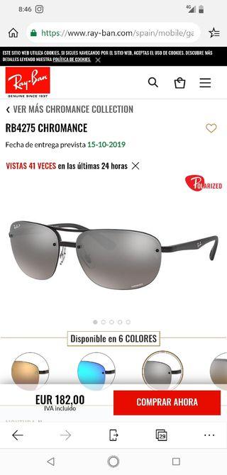 Gafas Nuevas RB 4275 polarizadas