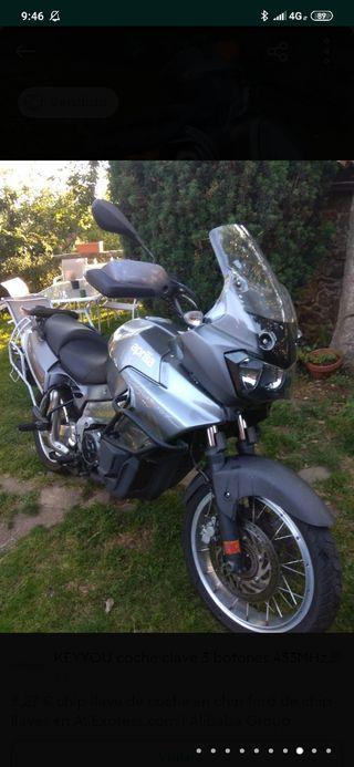 Moto trail Aprilia caponord etv abs