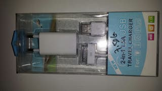 Cargador Nuevo Ifhone o Ipad 2 en 1