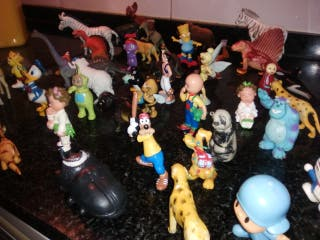 muñecos de goma